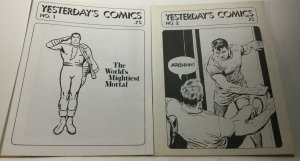 Yesterday's Comics 1 2 Vf Very Fine 8.0 Fanzine