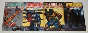 Terminator: the Enemy Within #1-4 VF/NM complete series SIMON BISLEY dark horse