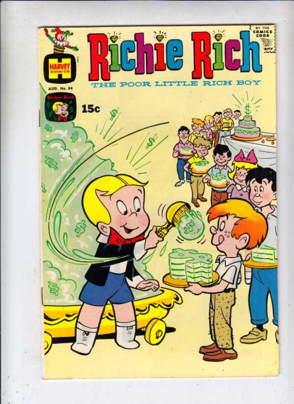 Richie Rich #84 (Aug-69) NM- High-Grade Richie Rich