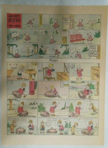 Skippy Sunday Page by Percy Crosby from 11/15/1931 Size: 11 x 15 inches