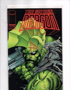 Image Comics (1993) Savage Dragon #1 1st App. Barbaric Ricochet Johnny Nitro