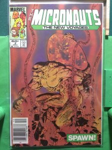 The Micronauts: The New Voyages #3