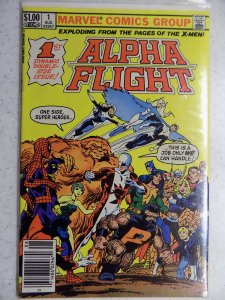 Alpha Flight #1 (1983)
