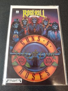 Rock N Roll Comics #1 Guns N Roses 1989 NM HARD TIN FIND