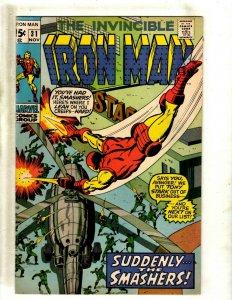 Iron Man # 31 VF Marvel Comic Book Avengers Hulk Thor Captain America J462