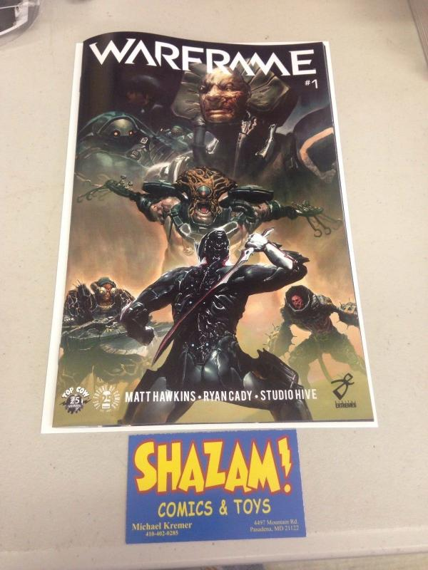 Warframe 1 NM Image Top Cow Comic