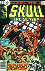 Skull the Slayer #7 FN; Marvel   save on shipping - details inside