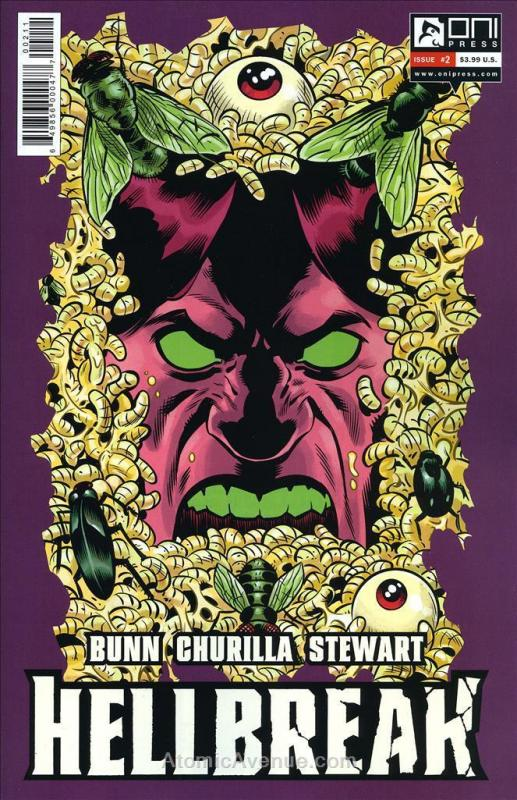 Hellbreak #2 VF/NM; Oni Press | save on shipping - details inside
