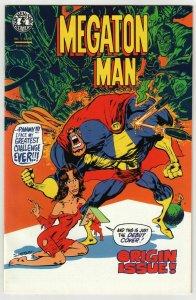 Megaton Man #1 (Kitchen Sink, 1984)