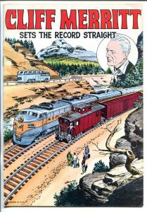 Cliff Merritt Sets The Record Straight 1952-Al McWilliams COVER-vf-