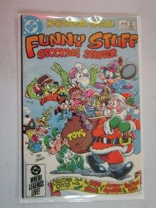 Funny Stuff Stocking Stuffer #1 1985 FN 6.0