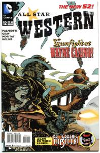 ALL STAR WESTERN #12, NM, Jonah Hex, Haunted Highwayman, 2011, more in store