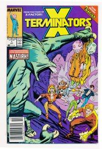 X-Terminators (1988) #1 VF