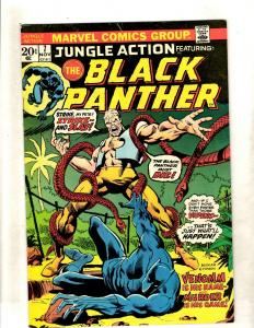 Jungle Action # 7 VF- Marvel Comic Book Black Panther Wakanda Vibranium FM5