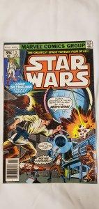 Star Wars #3 - VF - 1st Series - Newsstand Copy