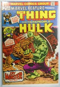 Marvel Feature (1st Series) #11 Hulk Vs Thing 3.0 (1973)