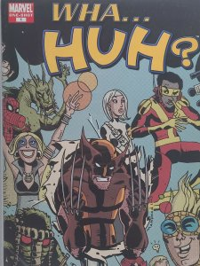 WHA...HUH? #1 One Shot What If?  Funnies Marvel Comics Spider-Ham Wolverine C2