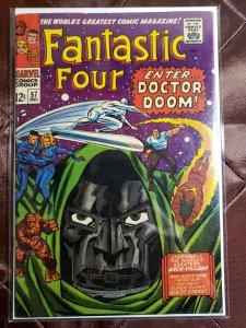 FANTASTIC FOUR #57 - Enter Doctor Doom! NM-