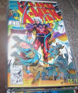 X MEN # 2 1991 marvel Jim  lee magneto  HOT BOOK