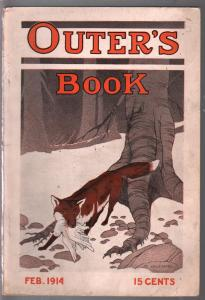 Outer's Book 2/1941-Lee Willenborg-pulp format-photo illustrated-vintage ads-FN