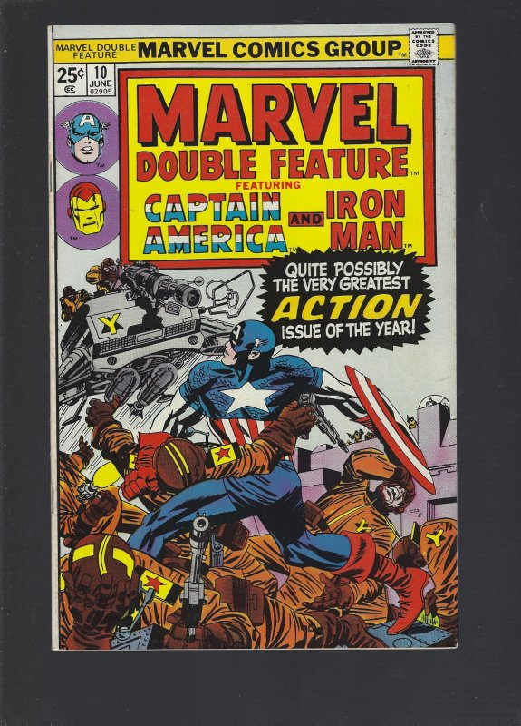 Marvel Double Feature #10 (1975)