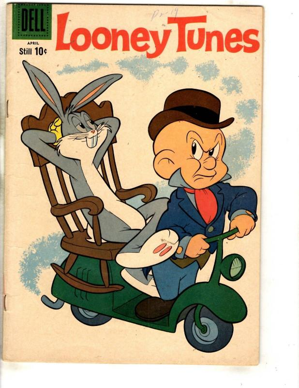 Looney Tunes # 222 FN 1960 Dell Golden Age Comic Book Elmer Fudd Bugs Bunny JL3