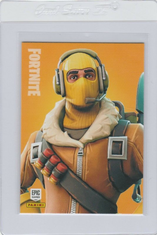 Fortnite Raptor 282 Legendary Outfit Panini 2019 trading card series 1