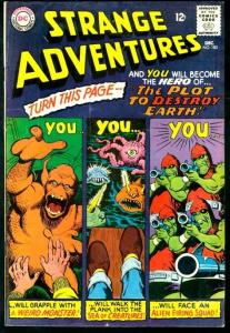 STRANGE ADVENTURES #183-THE PLOT TO DESTROY THE EARTH VG