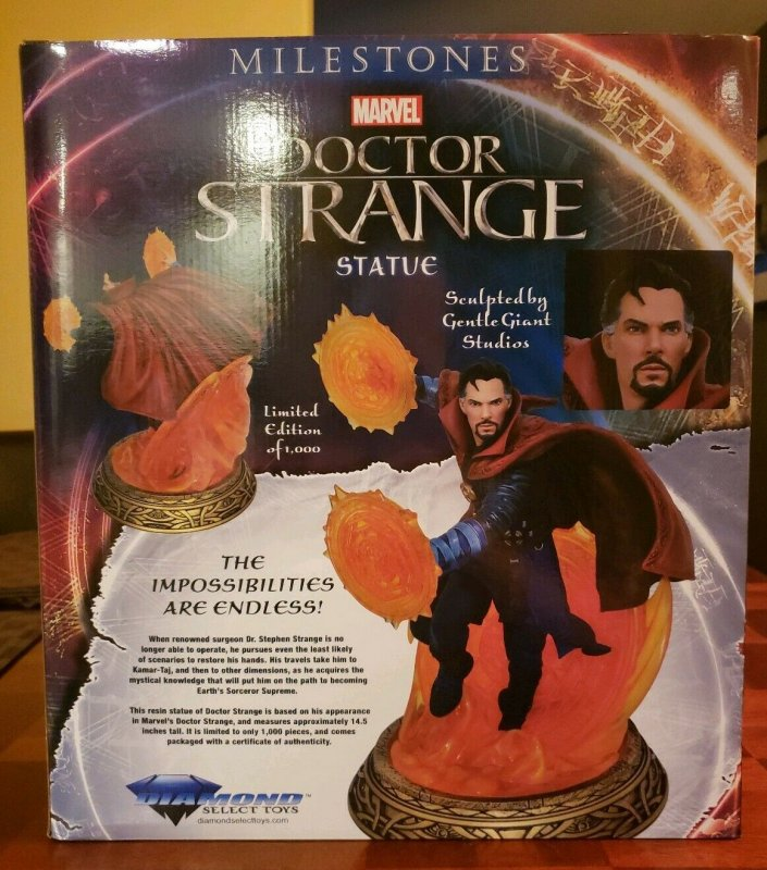DR STRANGE MILESTONES STATUE - DIAMOND SELECT LIMITED TO 1000