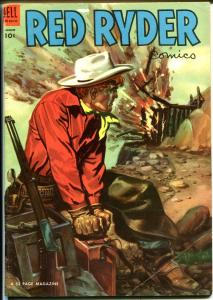 Red Ryder #121 1953-Dell-painted cover-Fred Harmon-FN