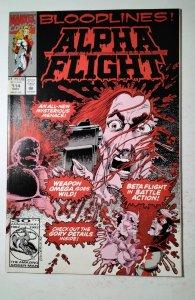 Alpha Flight #114 (1992) Marvel Comic Book J757