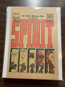 The Spirit Comic Book Section Newspaper Very Fine Or Better 1942 January 11