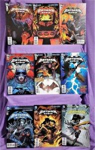 DC New 52 BATMAN and ROBIN #1 - 9 Peter J Tomaski Patrick Gleason (DC, 2011)!