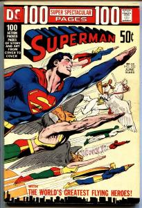SUPERMAN #252 comic book 1972 DC 100 page issue Neal Adams
