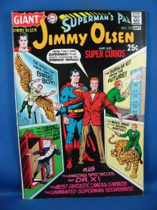 Superman's Pal, Jimmy Olsen #131 (Aug-Sep 1970, DC) F VF GIANT