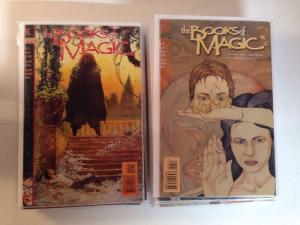 Book Of Magic 1-75 34 Book Near Mint Lot Set Run See Description