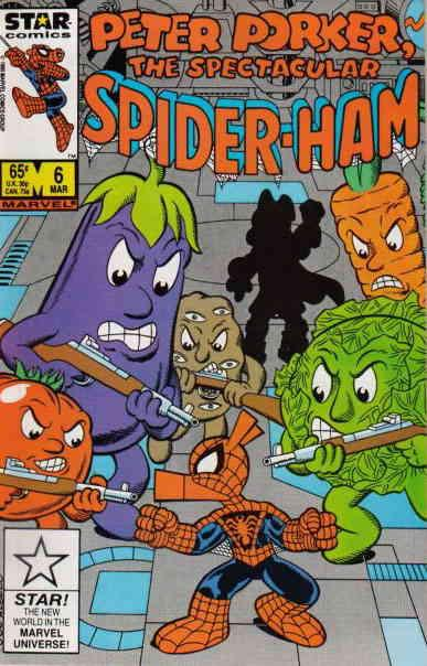 Peter Porker, the Spectacular Spider-Ham #6 VF/NM Star - save on shipping - deta