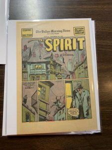 The Spirit Comic Book Section Newspaper Very Fine Or Better 1942 December 20