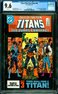 Tales of the Teen Titans #44 CGC Graded 9.6 Dick Grayson becomes Nightwing. 1...