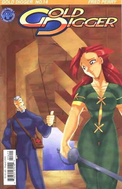 Gold Digger (3rd Series) #14 VF/NM Antarctic - save on shipping - details inside