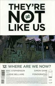 They're Not Like Us #12 VF/NM; Image | save on shipping - details inside