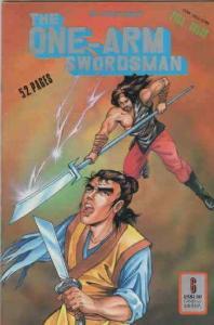 One-Arm Swordsman #6 FN; Dr. Leung's | save on shipping - details inside