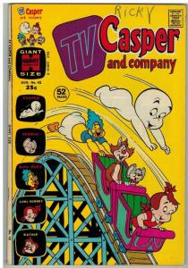 TV CASPER & COMPANY (1963-1974) 42 VG Aug. 1973 COMICS BOOK