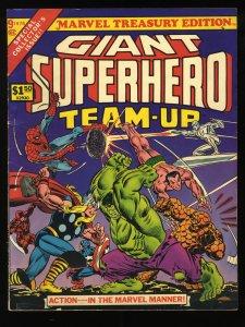 Marvel Treasury Edition #9 FN 6.0 Giant Superhero Team-Up Spider-Man Thor Hulk!