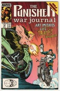Punisher War Journal #12 (Marvel, 1989) VF-