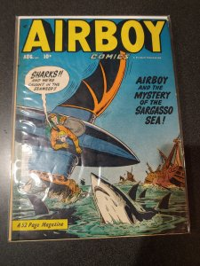 Airboy Comics #Vol. 7 #7  1950 FINE