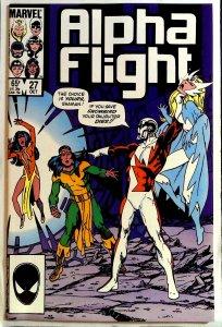 Alpha Flight #27 (1985)