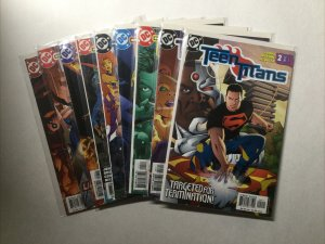 Teen Titans 2 3 4 5 6 7 8 9 10 Lot Run Set Near Mint- Nm- 9.2 Dc Comics