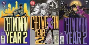 CATWOMAN (1993) 38-40  Year 2
