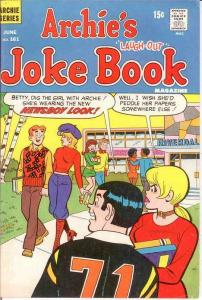 ARCHIES JOKE BOOK (1954-1982)161 F June 1971 COMICS BOOK